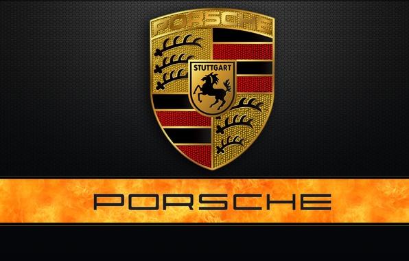 Картинка логотип, лого, эмблема, порше, Porshe, лейбл, шилд