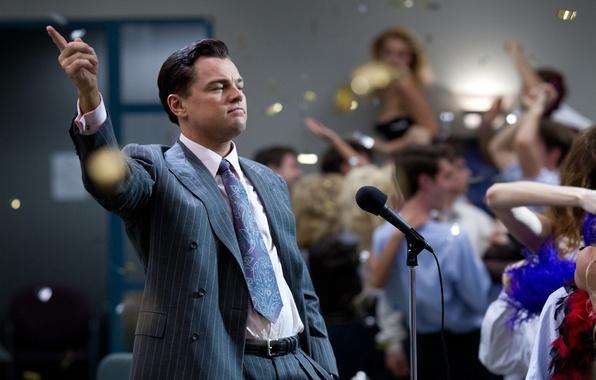 Картинка фильм, драма, Леонардо ДиКаприо, The Wolf of Wall Street, Волк с Уолл-стрит