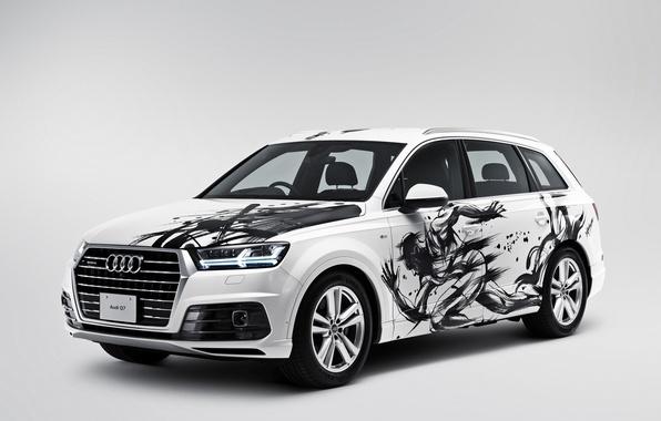Картинка фон, Audi, ауди, quattro, кроссовер