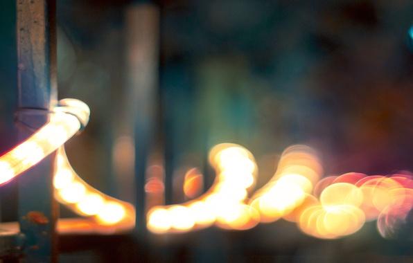 Картинка праздник, новый год, спираль, огоньки, украшение, christmas, new year, гирлянда, фонарики, лампочки, merry, spiral