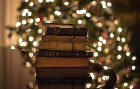 Картинка книги, старые, ключ, стопка, боке