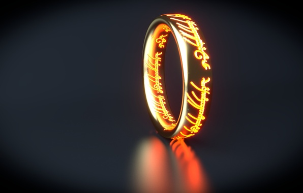 Картинка надписи, властелин колец, кольцо, арт, lord of the rings