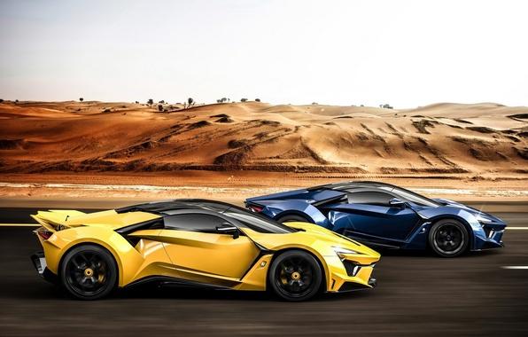 Картинка supercar, race, SuperSport, W-Motors, Fenyr