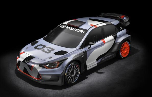 Картинка Concept, Hyundai, WRC, i20, 2015, хундай