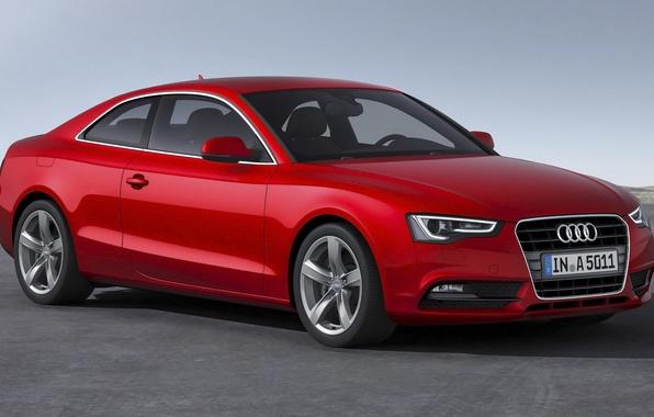 Картинка Audi, ауди, купе, красная, Coupe, 2014