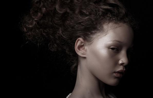 Картинка модель, девочка, профиль, Berkeley Clayborne