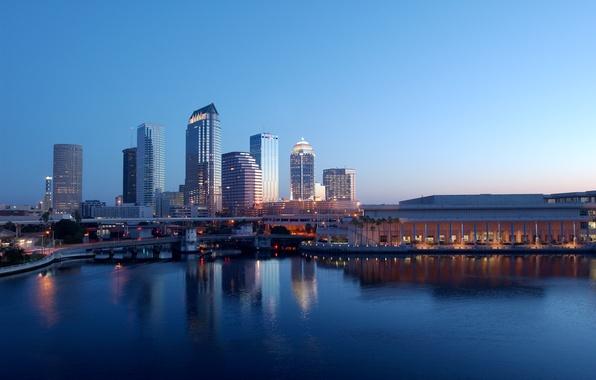 Картинка city, город, USA, Florida, Tampa