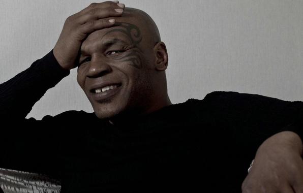 Картинка улыбка, тату, бокс, татуировка, боксер, boxing, Mike Tyson, Майк Тайсон
