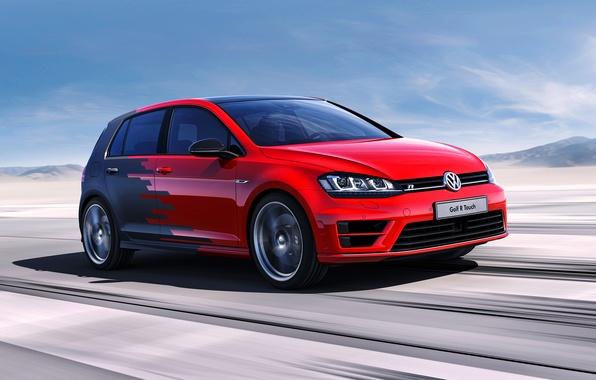 Картинка Concept, Volkswagen, гольф, фольксваген, Golf R
