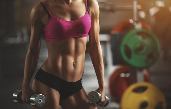 Картинка hot, sexy, model, fitness, abs