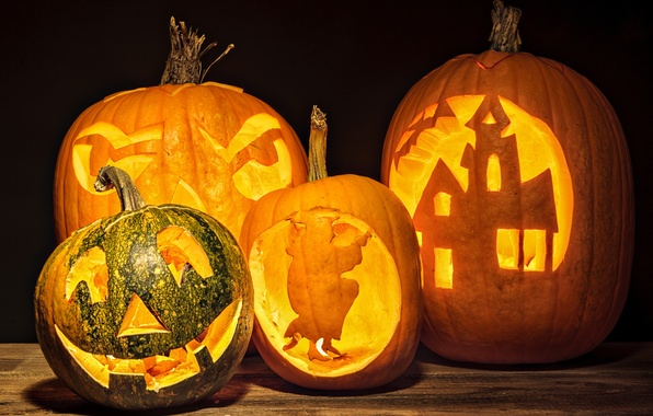 Картинка свечи, Halloween, тыква, Хэллоуин, face, holiday, pumpkin