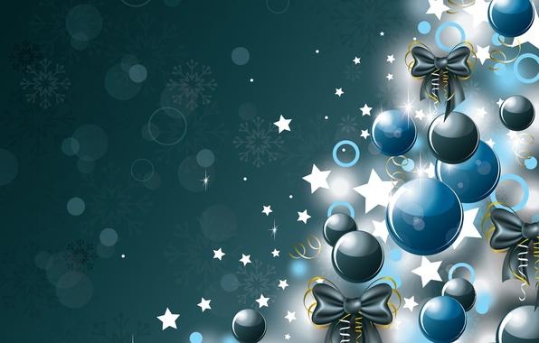 Картинка украшения, шары, елка, Новый Год, Рождество, Christmas, balls, New Year, decoration