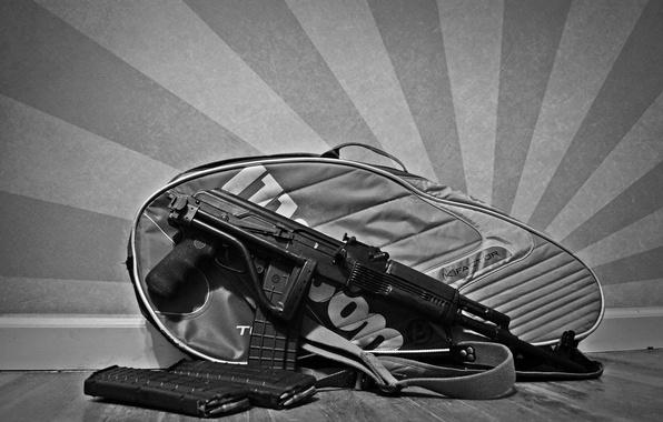 Картинка ружьё, карабин, Сайга, самозарядное