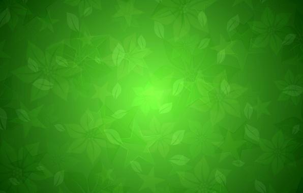 Картинка листья, абстракция, узор, звезда