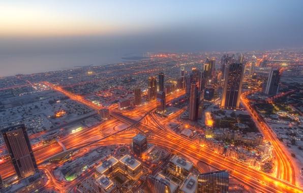 Картинка город, Dubai, United Arab Emirates