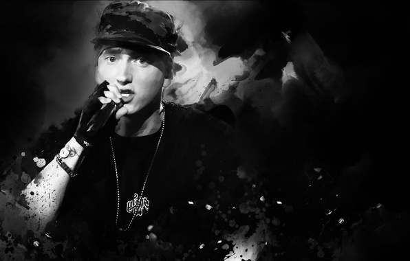 Картинка мужчина, hip-hop, Eminem, rap