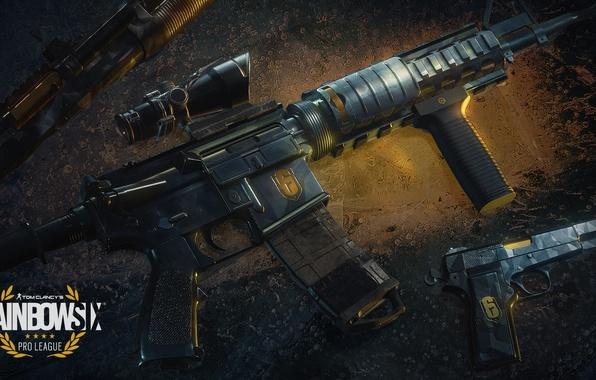 Картинка weapon, Tom Clancy's Rainbow, Six Siege