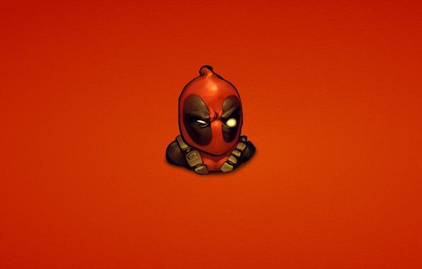 Картинка красный, marvel, Deadpool, Дэдпул, комикс, Wade Wilson