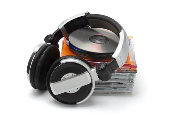 Картинка музыка, назад, наушники, диски, style, первый, коробочки, лет, HD wallpapers., Disc, джевел бокс, продажу, jewel …