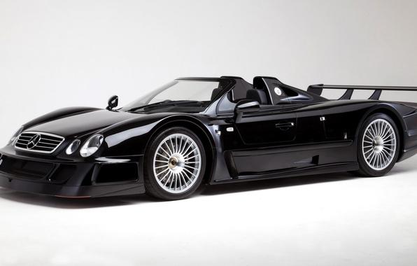 Картинка Roadster, Mercedes-Benz, GTR, суперкар, родстер, мерседес, AMG, CLK, 1998, амг, RHD
