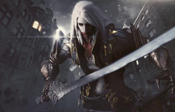 1080 x 1920 alucard wallpaper: Обои Alucard, Vampire Hunter, Castlevania: Lords Of Shadow