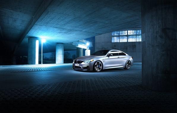 Картинка BMW, Shooting, Germany, Coupe, Night, F82