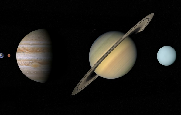Картинка planets, solar system, in order