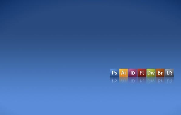 Картинка Adobe, Bridge, dreamweaver, продукция, Illustrator, иконки, логотипы, PhotoShop