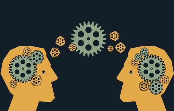 Картинка minds, ideas, heads, communication
