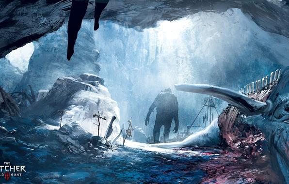 Картинка Ведьмак, Witcher, The Witcher 3 Wild Hunt, Ведьмак 3 Дикая Охота