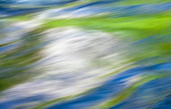 Картинка волны, вода, отражение, цвет