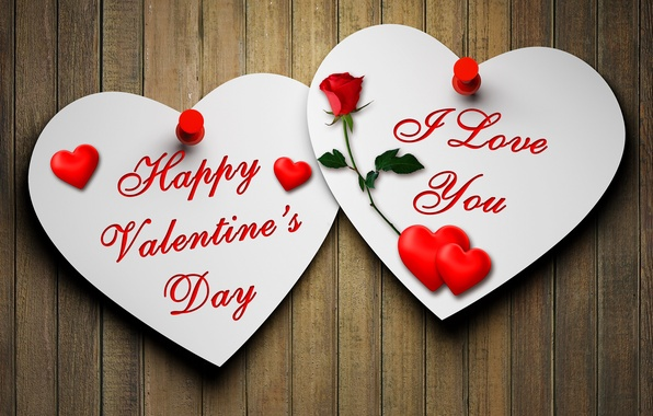 Картинка любовь, сердце, роза, love, rose, валентинка, heart, romantic, открытка, Valentine's Day, paper, Happy, I Love …