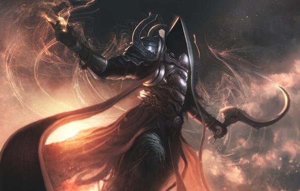 Картинка rpg, malthael, archangel of death, Diablo 3 Reaper of Souls