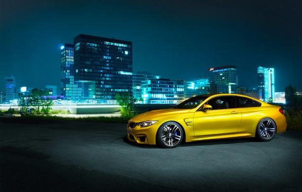 Картинка BMW, Shooting, Front, Germany, Coupe, Night, F82