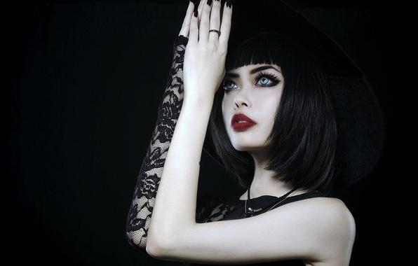 Картинка взгляд, девушка, модель, азиатка, Wylona Hayashi