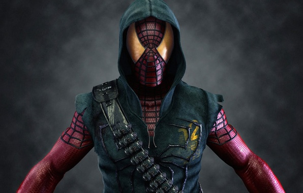 Картинка человек, паук, маска, spider, герой, man