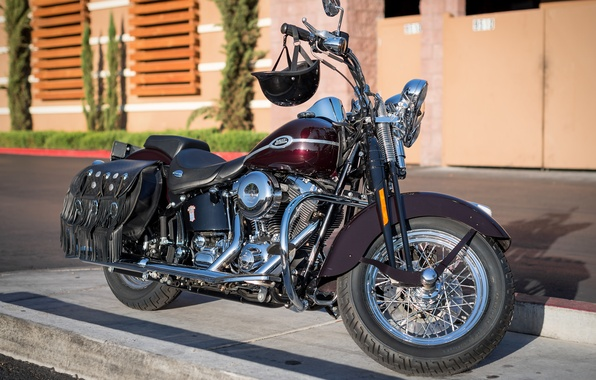 Картинка дизайн, мотоцикл, байк, Harley-Davidson