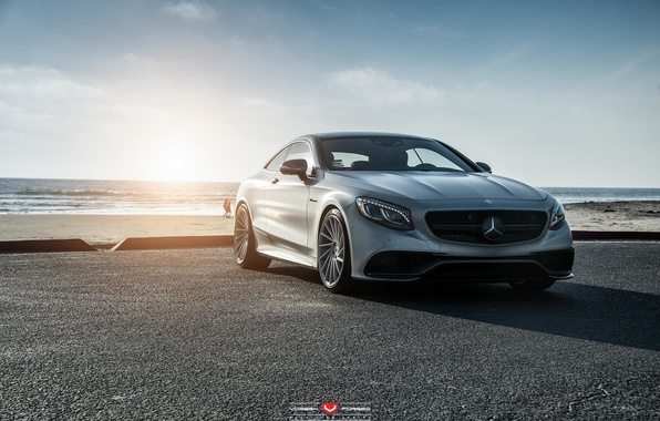 Картинка Мерседес, Mercedes, Vossen, S-Coupe