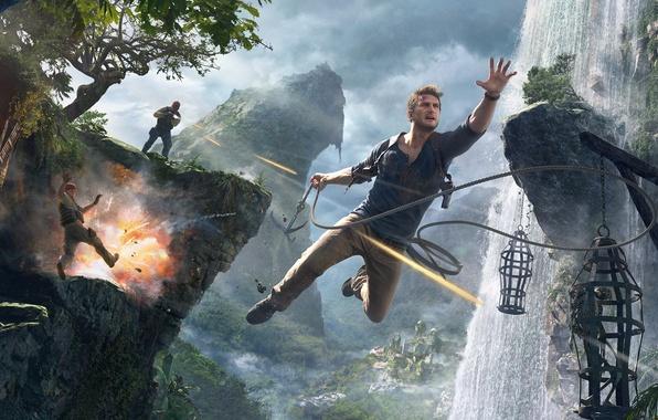 Картинка Game, Naughty Dog, Натан Дрейк, Uncharted 4: A Thief's End