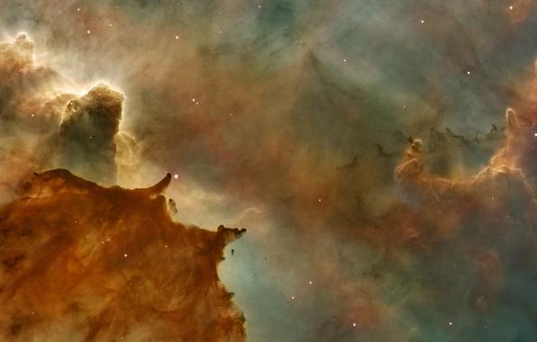 Картинка космос, туманность, планеты, спутник, Звезды, галактика, NASA, снимок, foto, плеяда