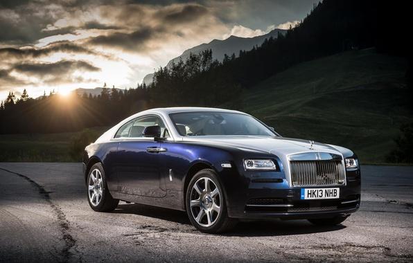 Картинка Rolls-Royce, Coupe, роллс-ройс, Wraith, врайт