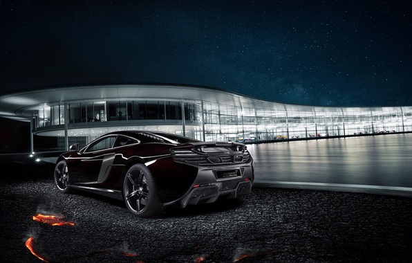 Картинка Concept, McLaren, Coupe, 2014, Rear, 650S, MSO