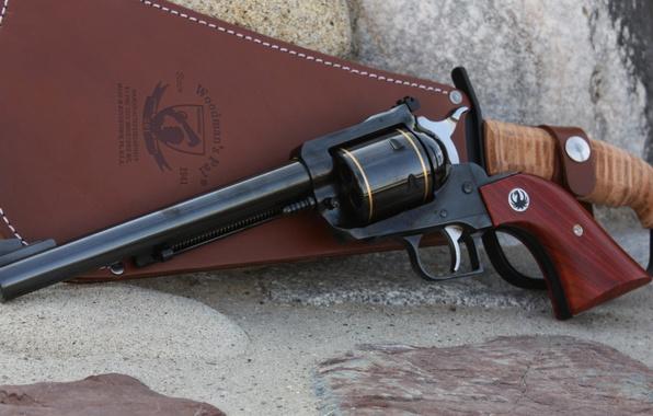 Картинка gun, USA, weapon, rocks, machete, blade, dragon, Ruger, revolver, cowboy, powerful, vegetation, Connecticut, Magnum 44, …