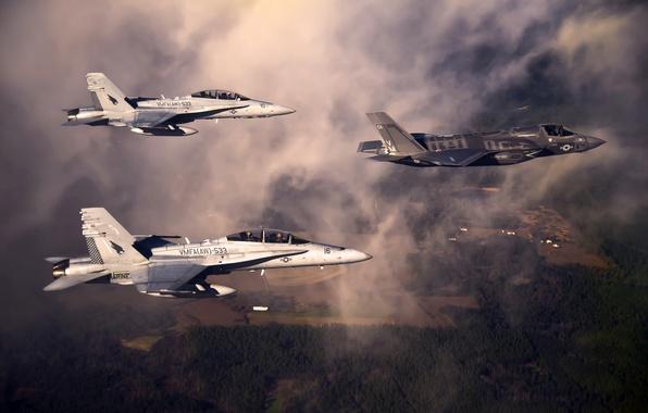 Картинка оружие, самолёты, F-35
