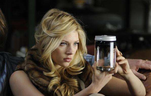 Картинка Взгляд, Блондинка, Актриса, Фильм, Красотка, Katheryn Winnick, Милашка, Cold Souls, Замерзшие души, Кэтрин Винник