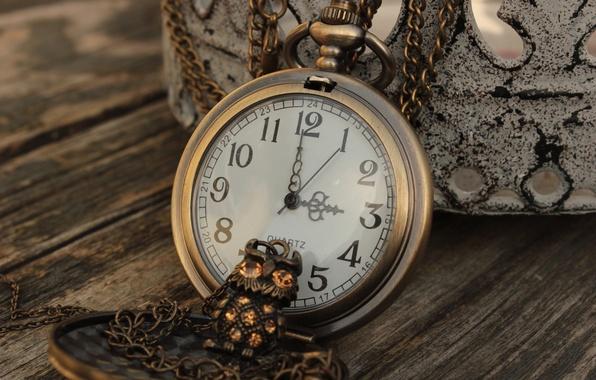 Картинка сова, часы, цифры, кулон, украшение, цепочка