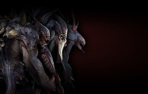 Картинка darkness, demons, creatures