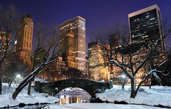 Картинка city, город, USA, NYC, New_York, central_park