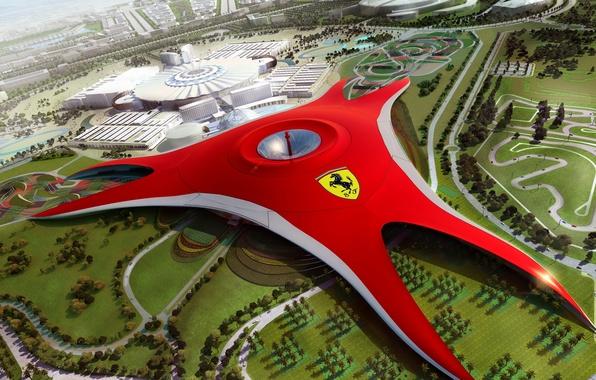 Картинка будущее, Dubai, Ferrari World