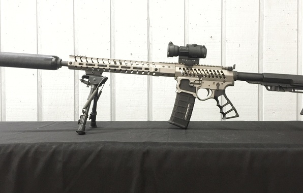 Картинка style, rifle, telescopic sight, modified